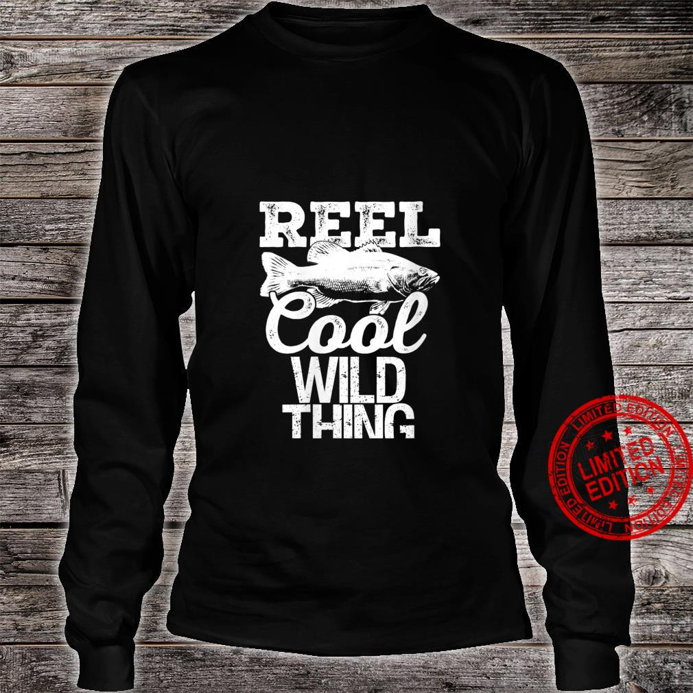 Womens Reel Cool Wild Thing Fishing Outdoor Angler Shirt long sleeved