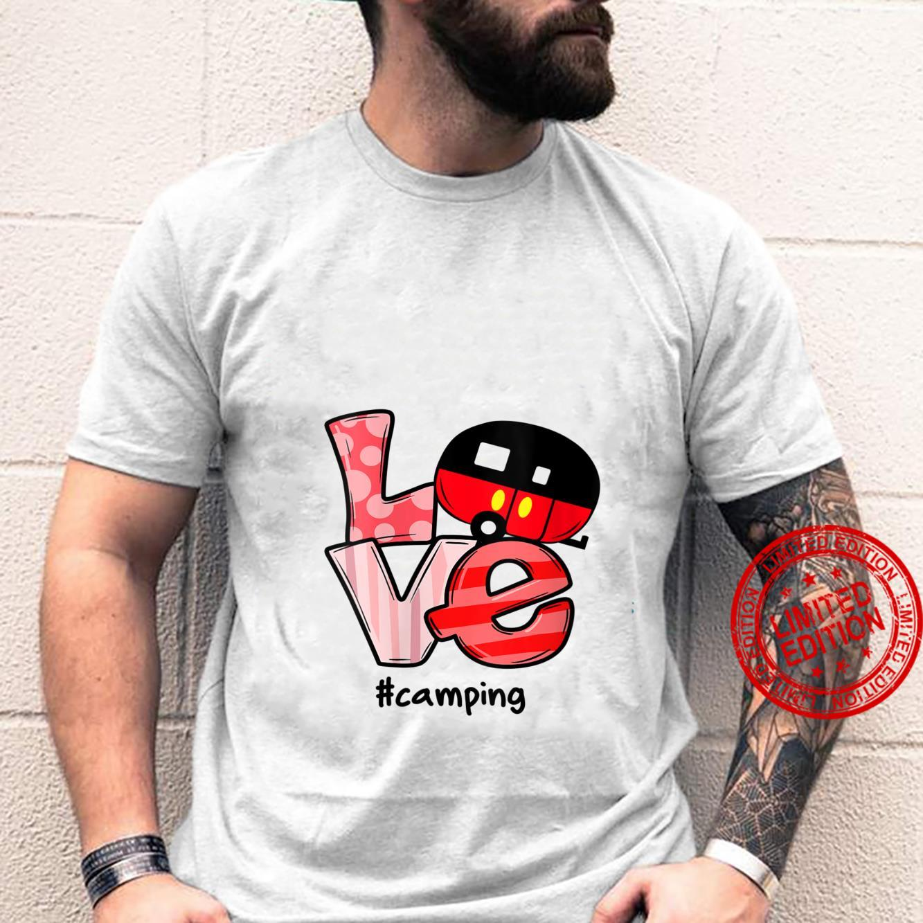Womens camping love Wholesome Family Love Shirt