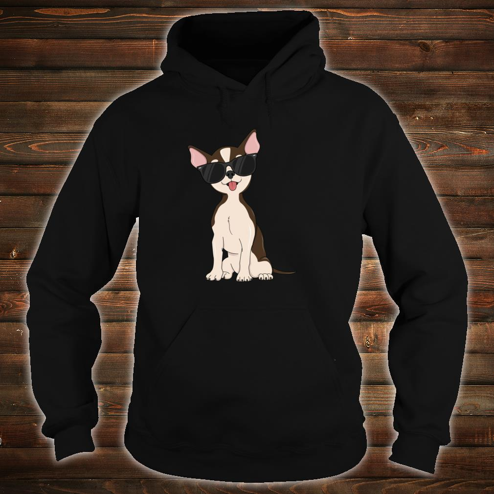 Cool Sunglasses Chihuahua Dog Dude Puppy Boys Shirt