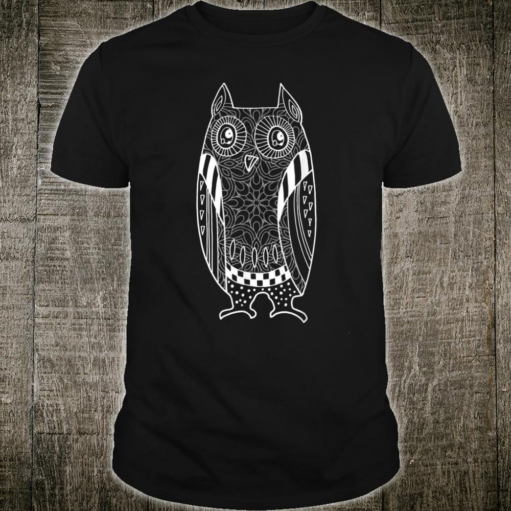 Cute Unique Trendy & Modern Hunting Owl Shirt