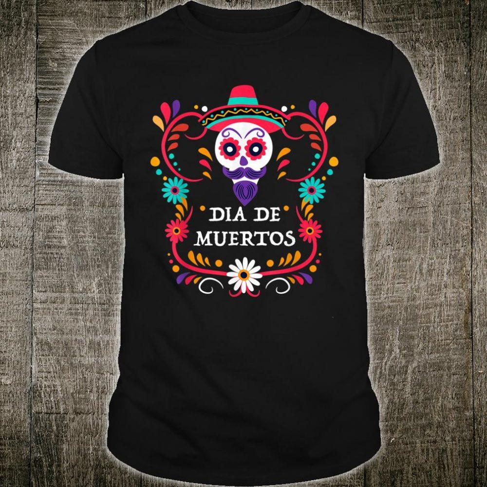 Dia De Los Muertos Day of the dead Barber skulls Shirt