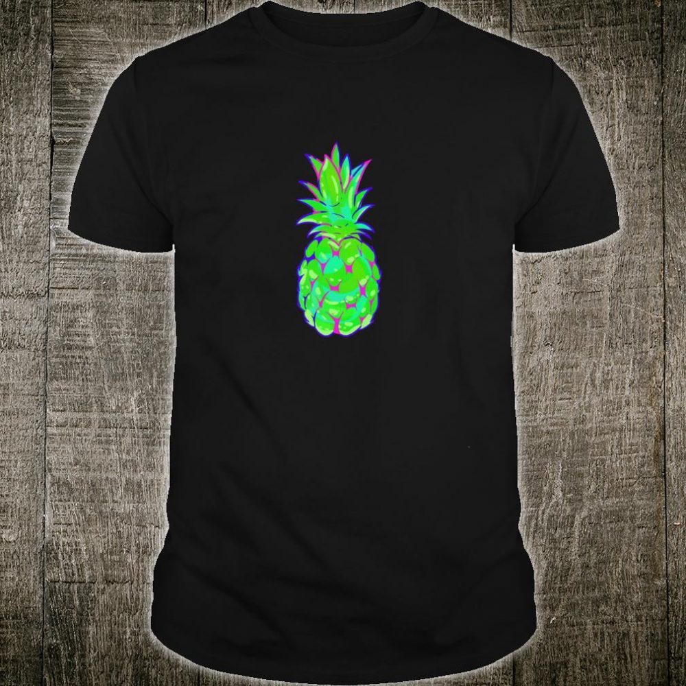 EDM Rave Pineapple Shirt