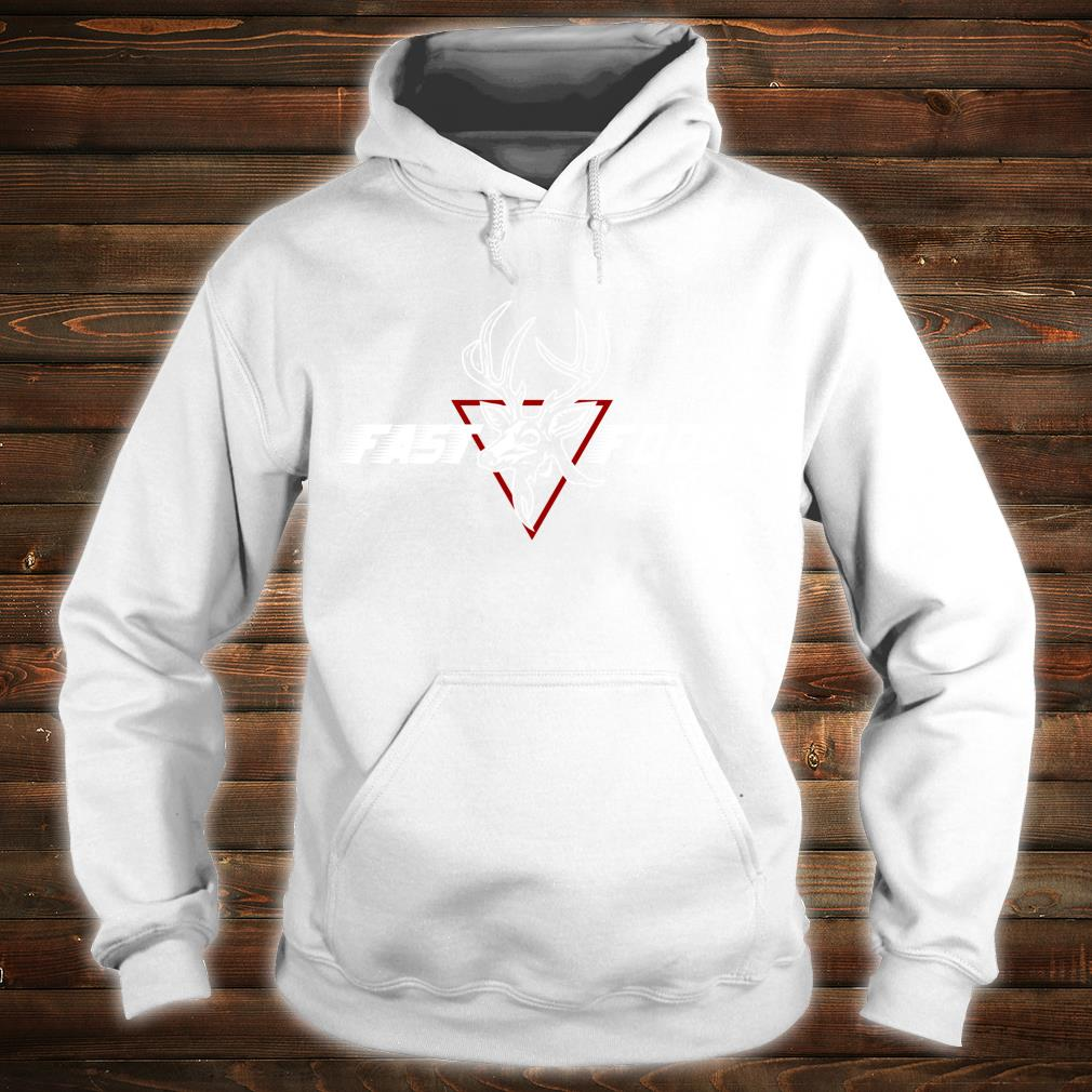 Funny Bow Hunting Gear Fast Food Retro Deer and Archery Shirt hoodie