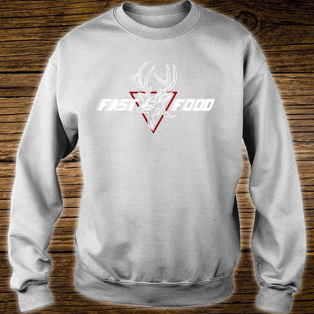 Funny Bow Hunting Gear Fast Food Retro Deer and Archery Shirt sweater