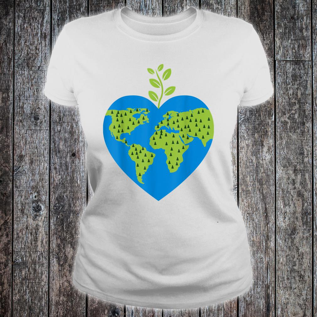 There Is No Planet B love it keeps it green earth day Shirt ladies tee