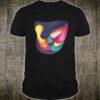 Unique and Cool of Abstract Mesh Fill Art Themed Shirt