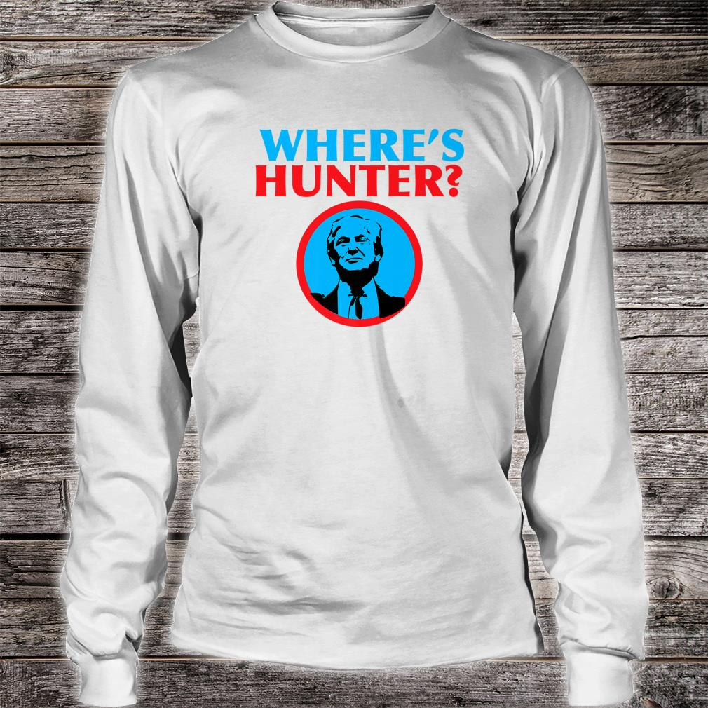 Where Is Hunter Shirt long sleeved