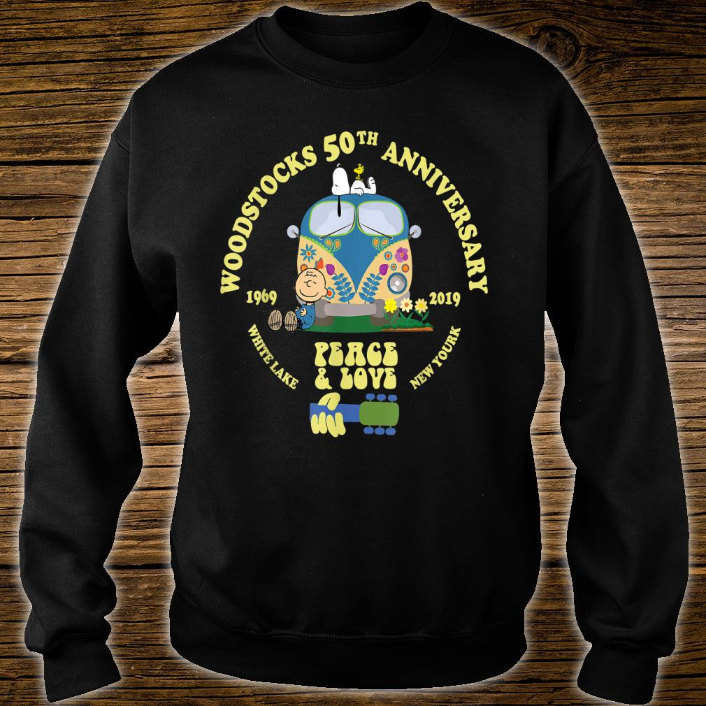 Woodstocks 50th Anniversary Peace Love Shirt sweater